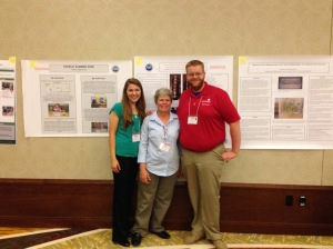 Rosa Schulz, Dr. Kelly Barry, Chris Foster, 2014 Midwest Noyce Conference